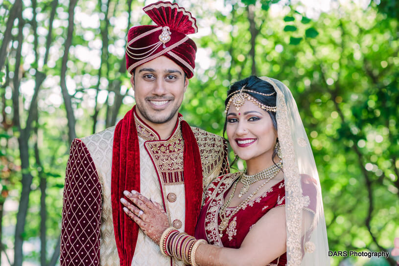 Indian Couple Captured by DARS Photography