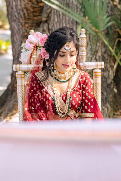 Beautiful Indian Bride makeup by Michele Renee The Studio and Salon