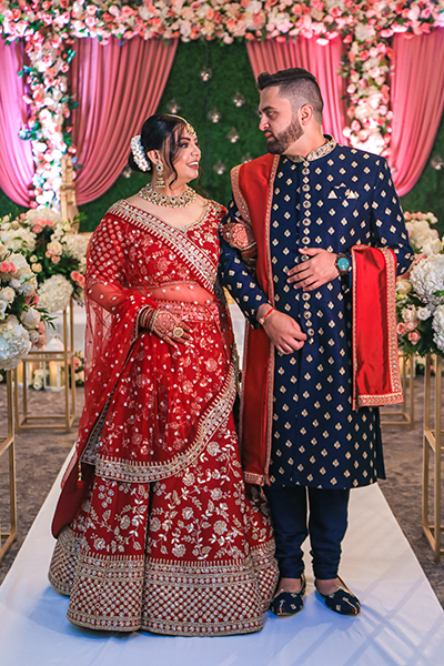 First look of Newly weds couple
