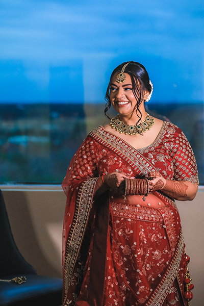 Lovely capture of Indian Bride