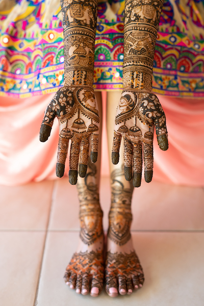 Excellent Indian Bridal Mehndi by Bridal Henna 01