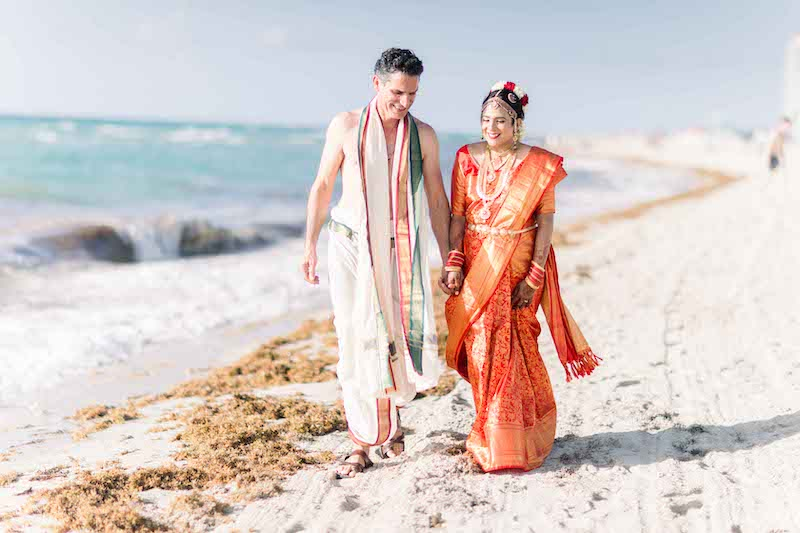 Indian Couple Holding Hands Forever