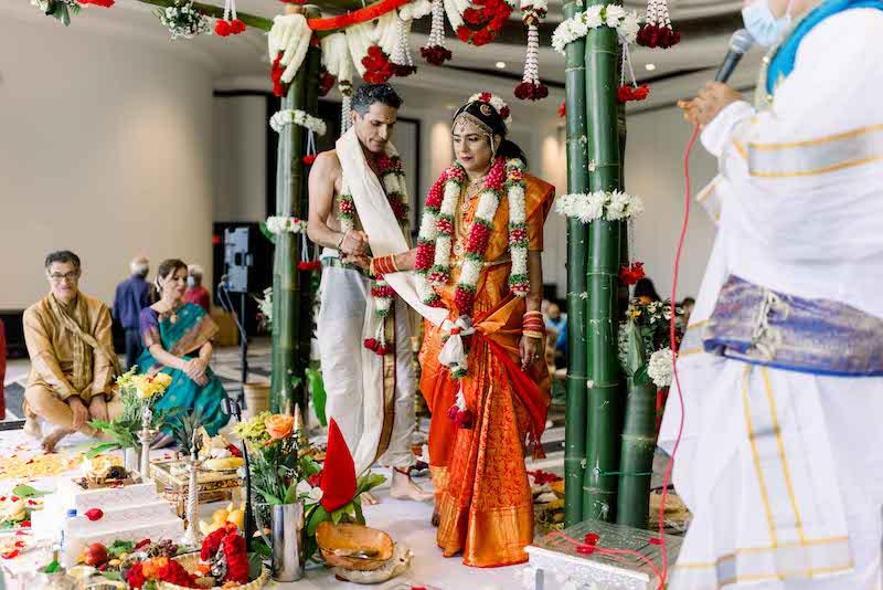 7 Pheras or the Saptapadi