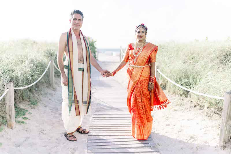 Lovely Indian couple posing