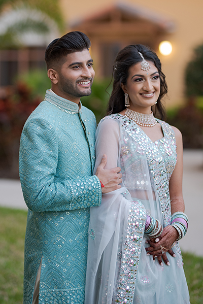 Detailed Look of Indian Couple