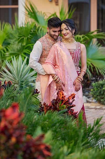 Indian Couple pre-wedding photo shoot