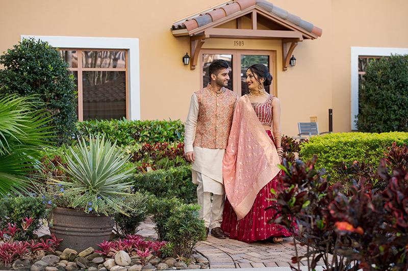 Lovely Indian Wedding couple