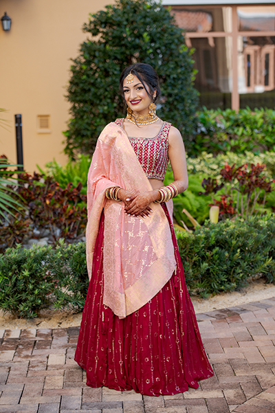 Outfit of Indian Bride