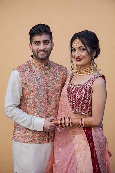 Gorgeous Couple posing for a photo