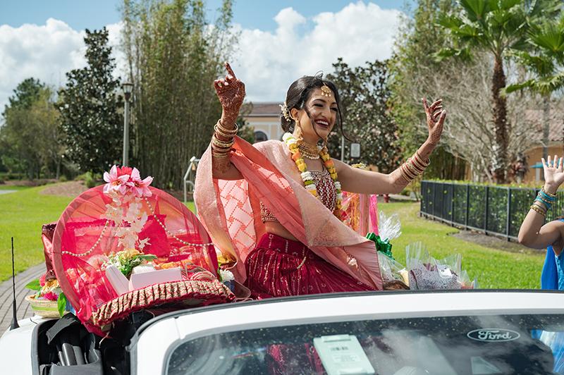 Indian Bride Enterance