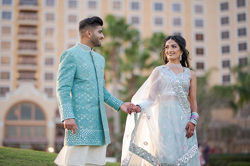 First Look Photo of Indian Couple