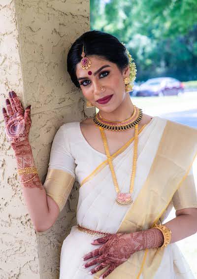 Gorgeous Indian Bride Portrait Capture