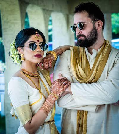 Couple Posing before the wedding
