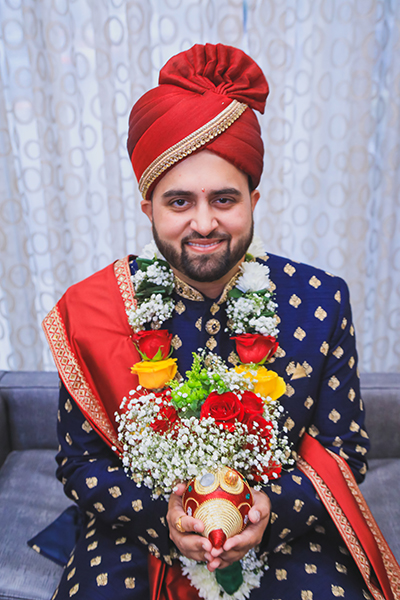 Indian wedding rituals by groom