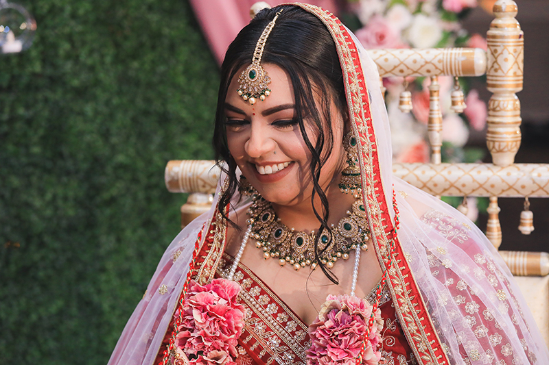 Amazing portrait capture of Indian bride
