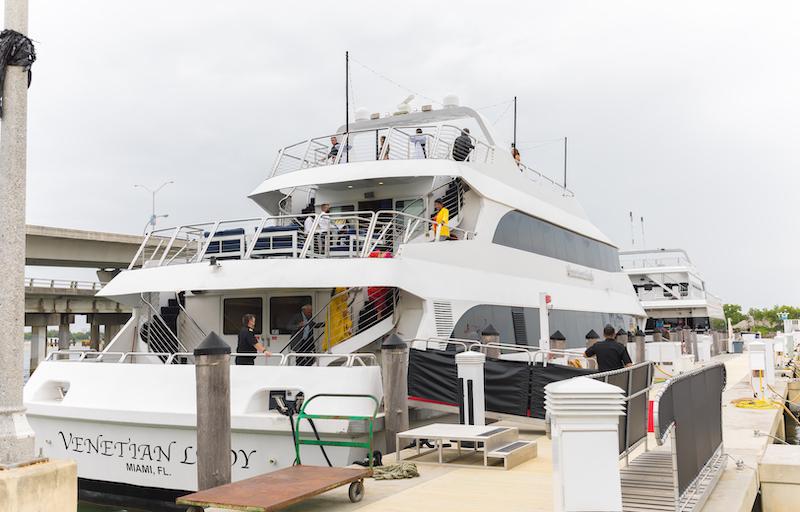 Yacht rental service in Florida
