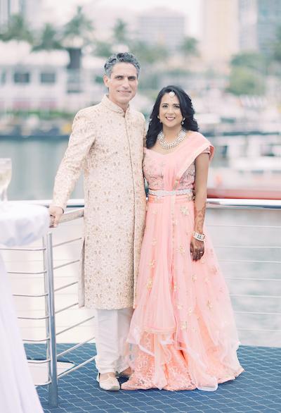 Portrait photo shoot of Indian couple