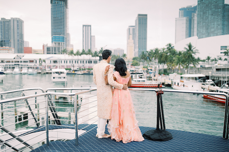 Lovely view for Indian Couple