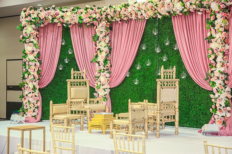 Flowers provided by Flower Girl Designs