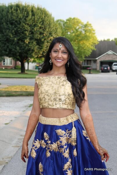 Indian Bride Capture Outdoors