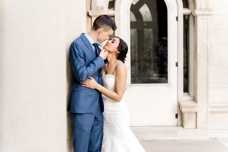 Romantic moment captured by Alexandra Robyn Photo + Design