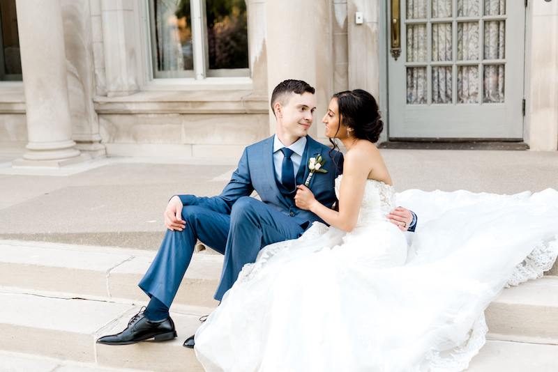 Shanna and kirill fusion wedding at Gale Mansion