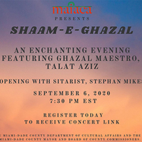 Talat Aziz, Live From Mumbai To Your Home: MAIACA Presents Shazam-E-Ghazal