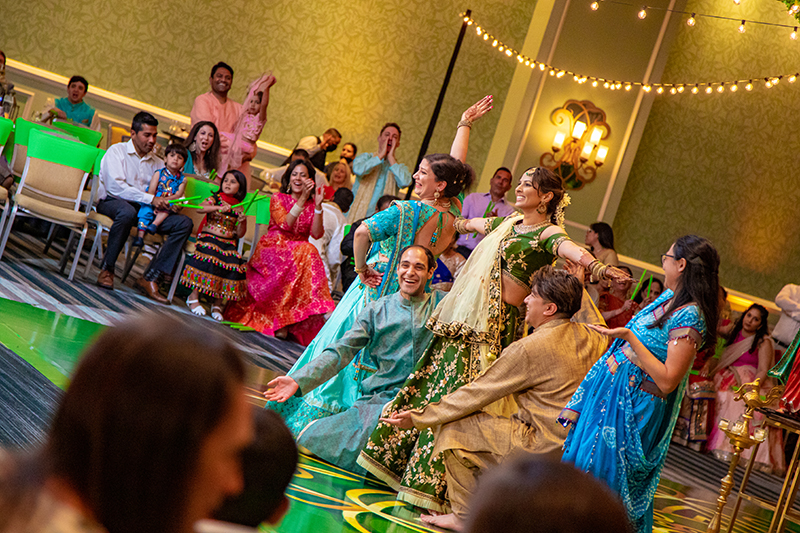 Sangeet performance by Indian Bride