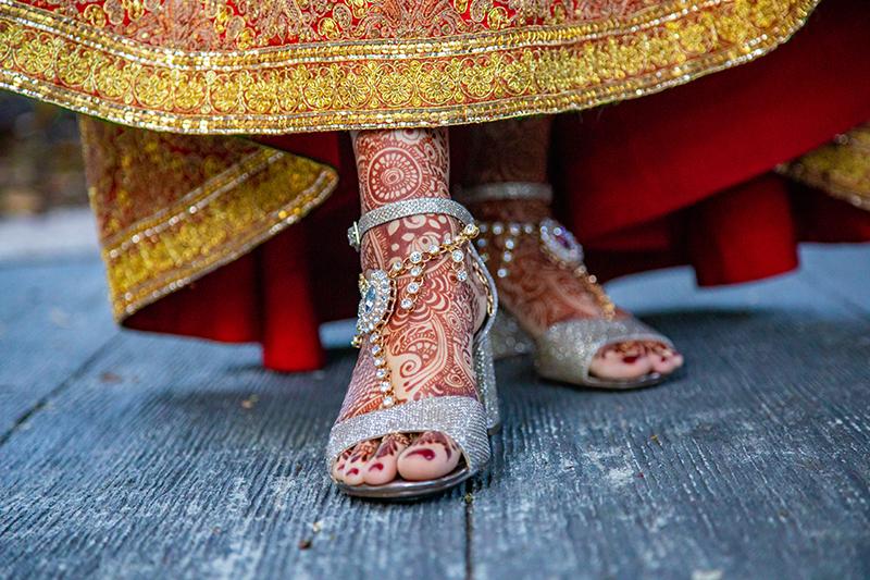 Amazing foot mehndi by Henna Mehndi Art By Amrita
