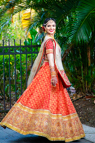 Amazing Wedding Gown of Indian Bride