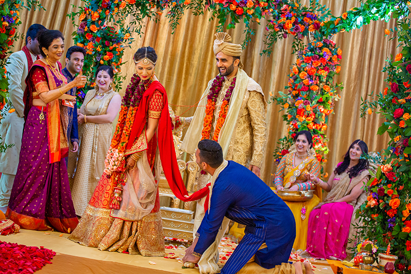 Indian wedding pheras