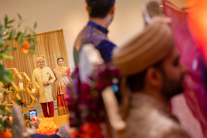 Bride Entering the Wedding Chauri