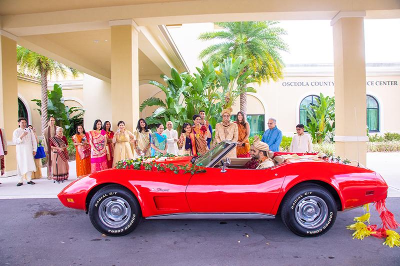 Car rental by Orlando Dance Floor Rental