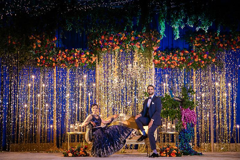 Amazing Indian Reception Backdrop decor