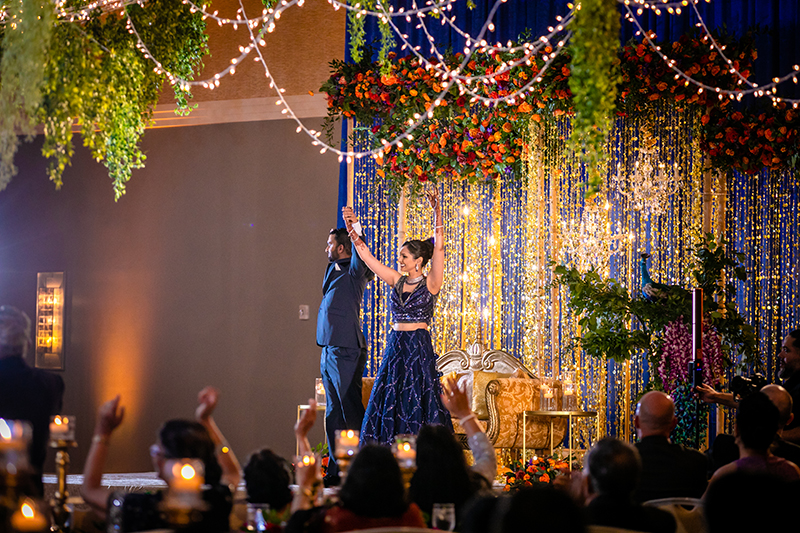 Wedding Entry at reception
