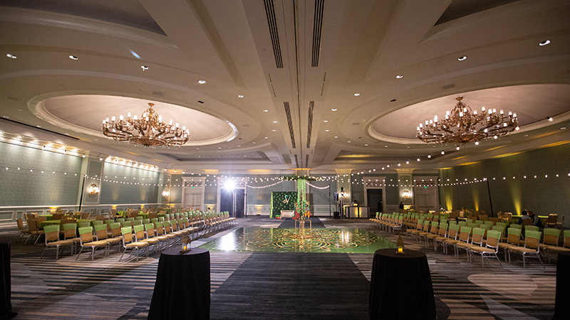 Amazing banquet halls at Omni Orlando Resort at Championsgate
