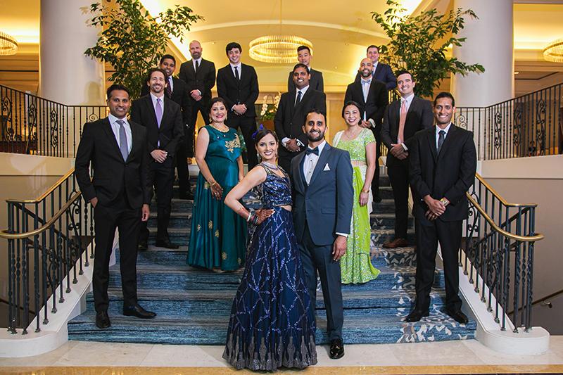 Wedding reception Photo shoot