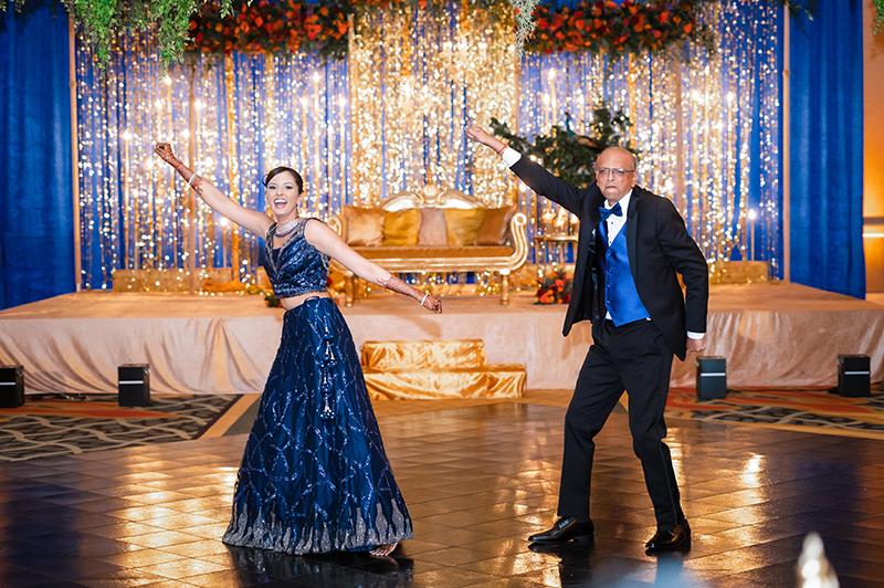 Bride Dancing at the reception
