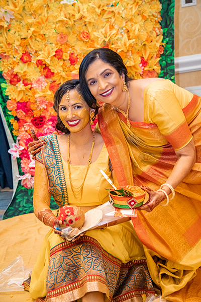 Indian Bride Haldi Ceremony