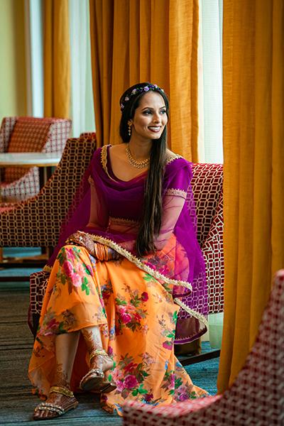 Lovely Indian bride wedding Lehngha