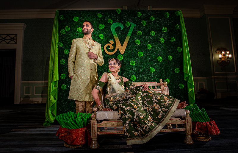 Indian Wedding Sangeet Photo Shoot