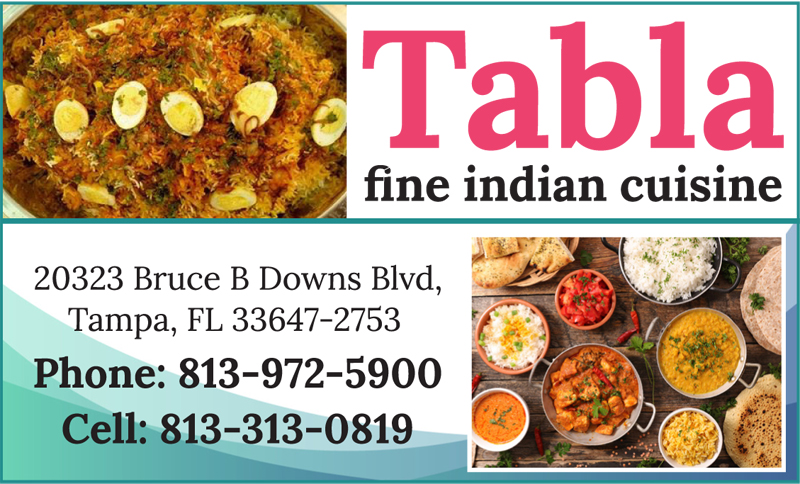 Tabla fine indian cuisine