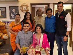 Aditya Narayan and Shweta Agarwal's Family