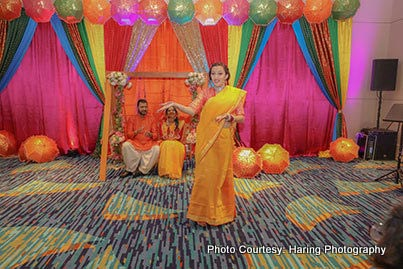 Wedding Celebration - Haldi ceremony