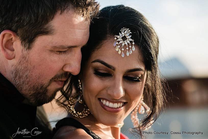 Detailed look Bride Jewellery