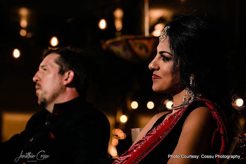 Portrait look of couple