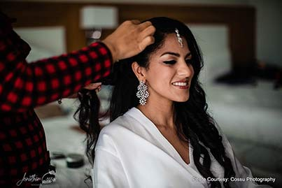 Indian Bride Hair do by Tania Tagle Makeup & Hair