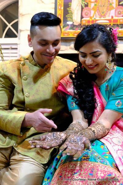 Indian wedding mehndi by Henna By Shweta