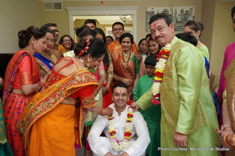 Pre-wedding ceremony - Haldi