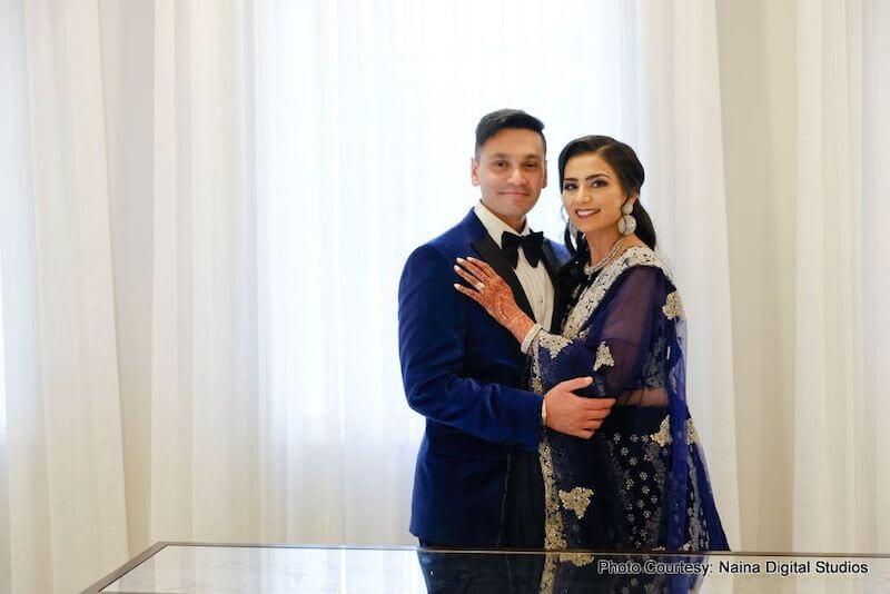Meghavi and Ketul Indian wedding at The Mansion At Mountain Lakes, New Jersey